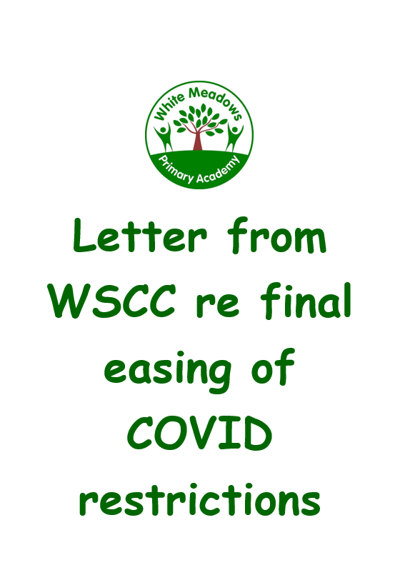 WSCC Final Easing of COVID Restrictions